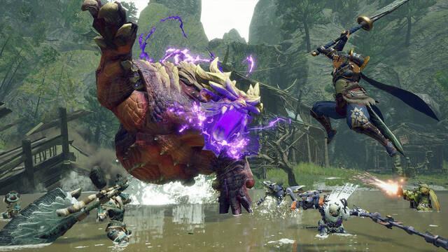 Monster Hunter Rise llegará a PC el 12 de enero.