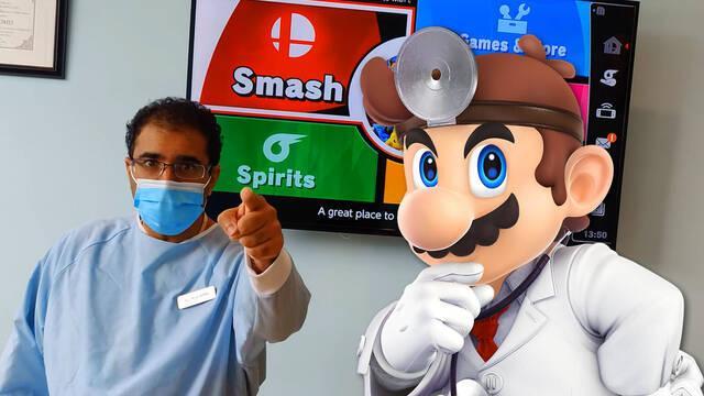 Un dentista ofrece limpiezas dentales gratuitas a quienes le ganen en Super Smash Bros. Ultimate.