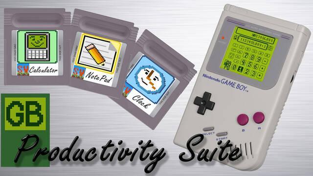 Financian en Kickstarter un cartucho con aplicaciones de oficina para Game Boy