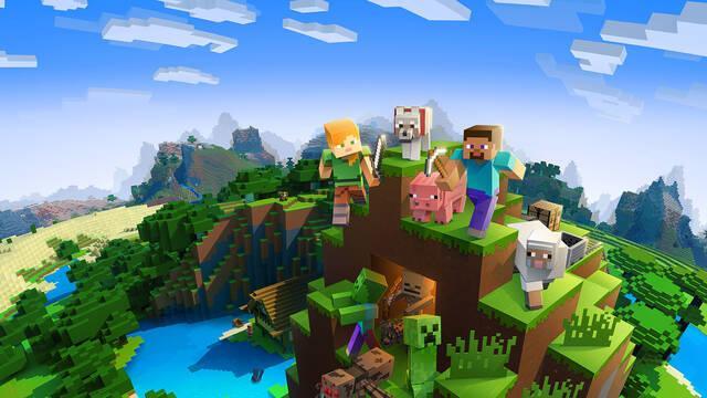 Minecraft el más vendido de la semana en Reino Unido.