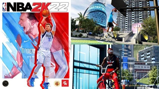 NBA 2K22 La Ciudad y Mi Carrera tráiler