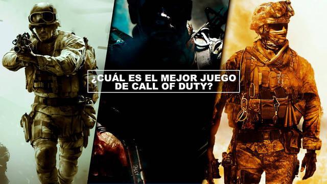 ¿Cuál es el mejor juego de Call of Duty? - TOP 18