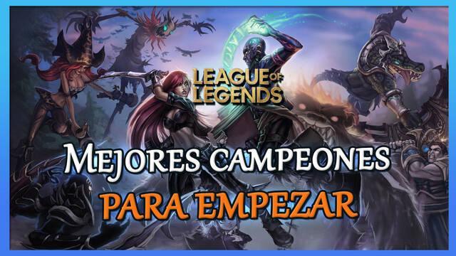 Mejores campeones para empezar en League of Legends y fáciles de usar