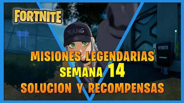 Fortnite T7: Misiones legendarias (Semana 14) - Solución y recompensas