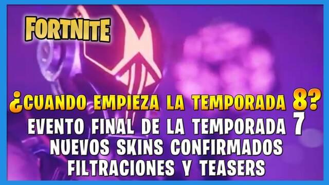 Fortnite Battle Royale - ¿Cuándo empieza la temporada 8?