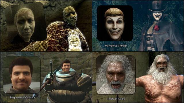 Dark Souls personajes realistas