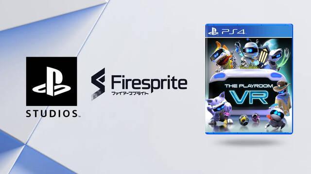 Firesprite se une a PlayStation Studios.