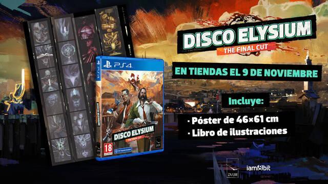 Disco Elysium tendrá ediciones físicas en PS4 y PS5 este año.