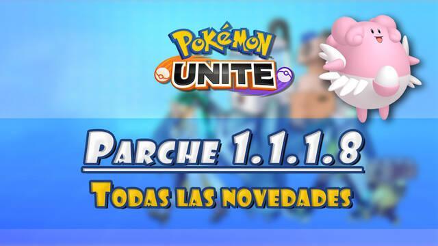 Pokémon Unite: Parche v1.1.1.8 con mejoras para Blissey