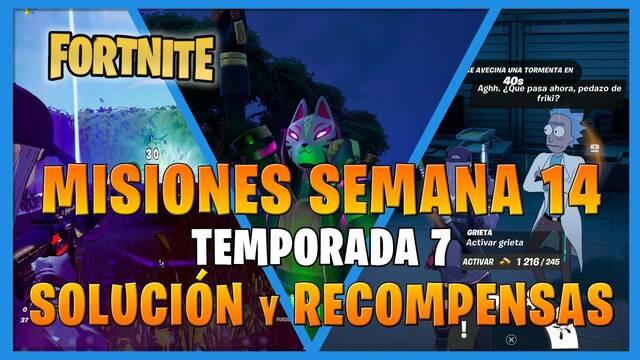 FORTNITE: misiones y desafíos Semana 15, temporada 7 - Solución y recompensas