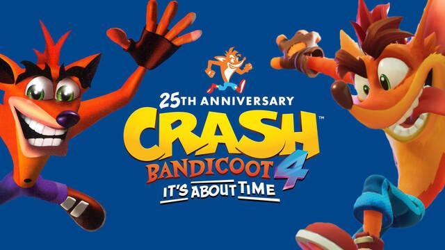 Hoy se cumplen 25 años del lanzamiento del primer Crash Bandicoot.