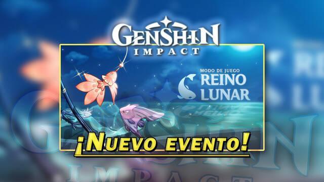 Genshin Impact: Todos los detalles del evento Reino Lunar