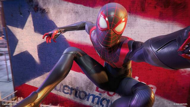 Nueva imagen de Spider-Man: Miles Morales para PS5