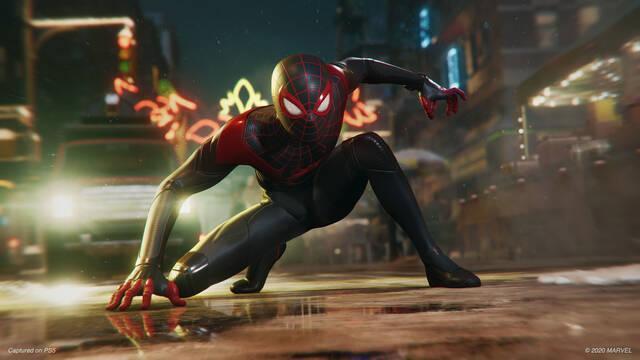 Spider-Man: Miles Morales se actualiza y mejora el ray-tracing en su modo rendimiento