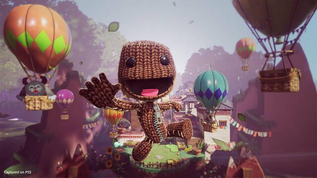 Sackboy: Una aventura a lo grande plataformas 3D