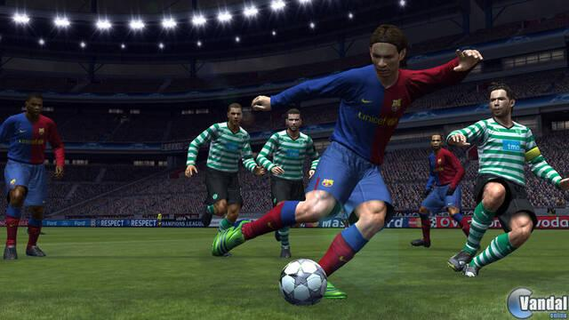 La Champions League es exclusiva para Pro Evolution Soccer 2009