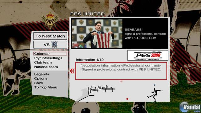 Nuevas imágenes de Pro Evolution Soccer 2009