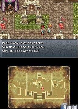 Nuevas imágenes de Chrono Trigger DS