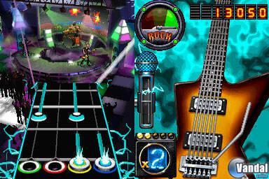 GC: Primeras imágenes de Guitar Hero On Tour Decades