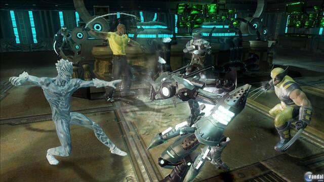 El Hombre de Hielo se muestra en Marvel Ultimate Alliance 2