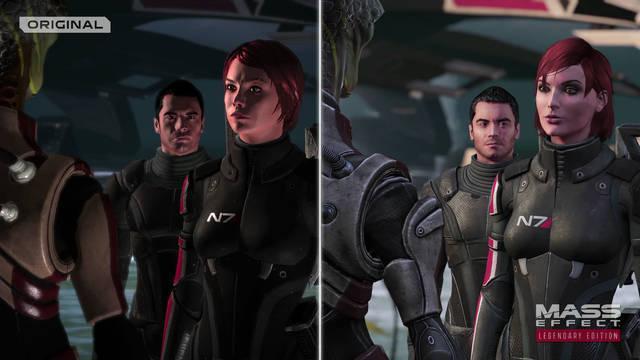 Mass Effect: Legendary Edition nos muestra en un nuevo vídeo sus mejoras gráficas