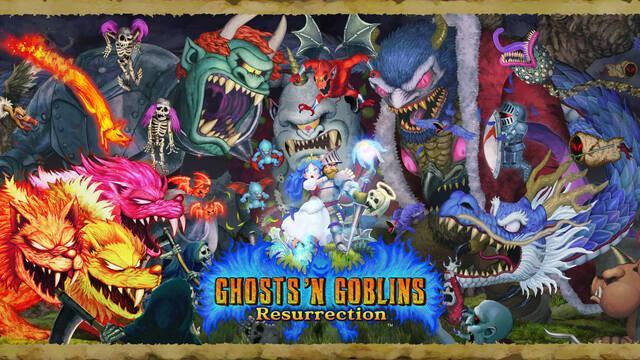 Ghosts 'n Goblins Resurrection y su apartado artístico