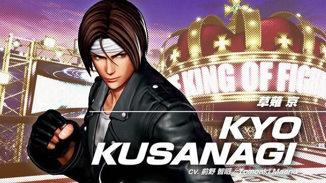 The King of Fighters 15 Kyo Kusanagi tráiler gameplay