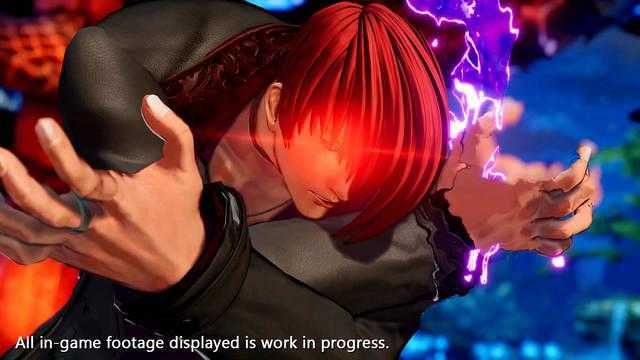 Iori Yagami en King of Fighters XV