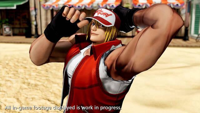 The King of Fighters 15 muestra a Terry Bogard en acción con vídeo e imágenes