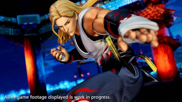 The King of Fighters 15 Andy Bogard gameplay tráiler