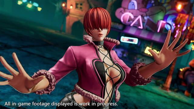 The King of Fighters 15 muestra a Shermie en acción con vídeo e imágenes
