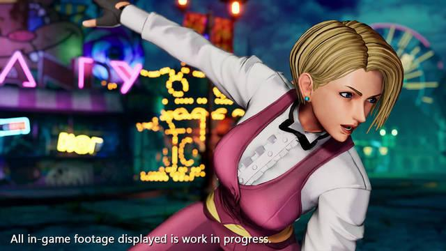 The King of Fighters 15 muestra a King en acción con vídeo e imágenes
