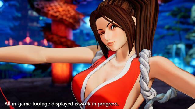 The King of Fighters 15 muestra a Mai Shiranui en acción con vídeo e imágenes