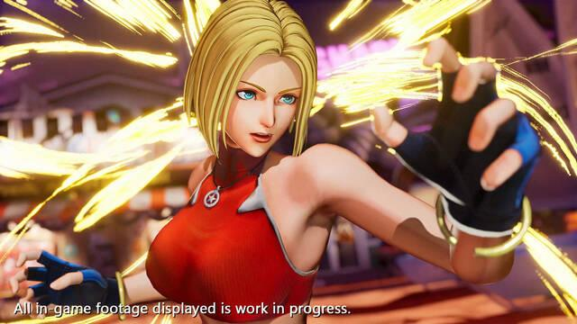 The King of Fighters 15 presenta a Blue Mary en vídeo e imágenes