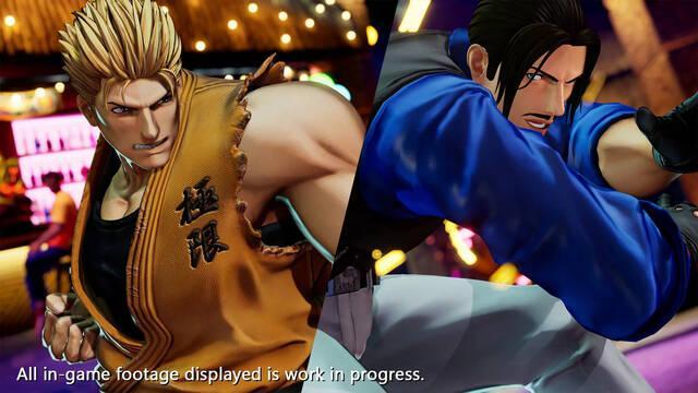The King of Fighters 15 muestra a Ryo Sakazaki y Robert Garcia en acción