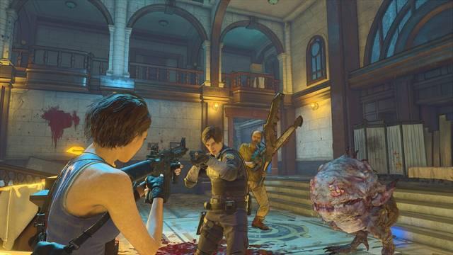 Resident Evil Re:Verse beta abierta servidores