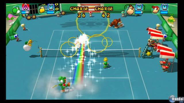 Nuevas imágenes de Mario Power Tennis para Wii