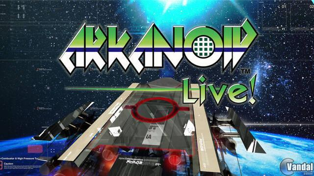 TGS: Primeras imágenes de Arkanoid Live