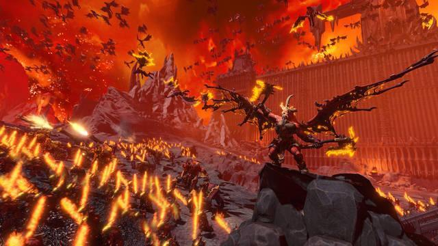 Total War: Warhammer 3 y el mundo de Khorne