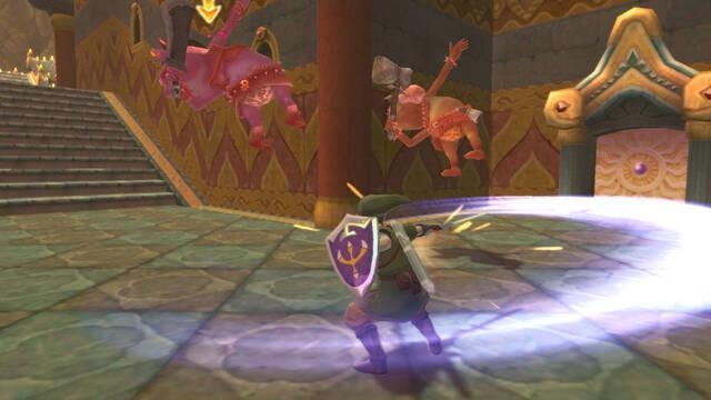 The Legend of Zelda: Skyward Sword HD joy-con controles
