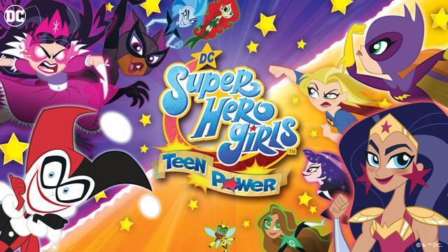 DC Super Hero Girls: Teen Power y su anuncio para Switch