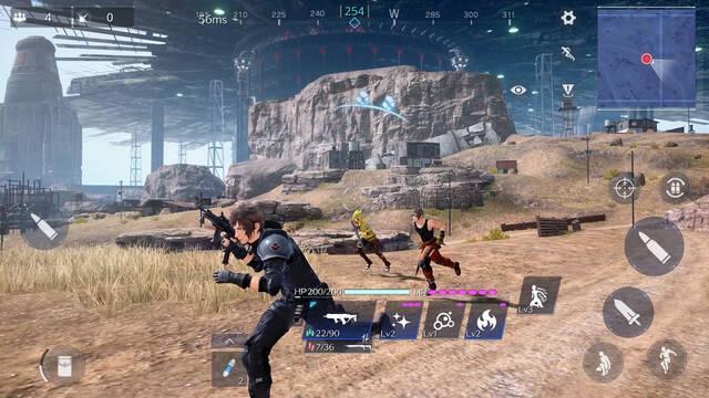 Final Fantasy 7 The First Soldier: Así es el 'battle royale' para móviles
