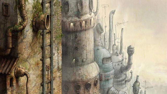 Nuevas imágenes e ilustraciones de Machinarium