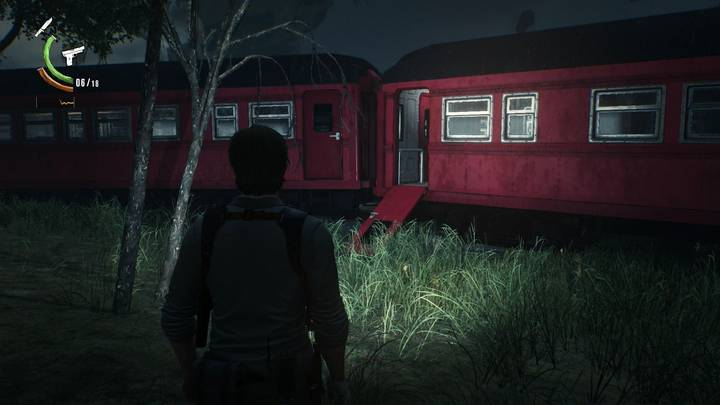 accidente de trenes - The Evil Within 2