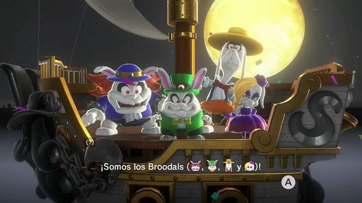 BRoodals en Super Mario Odyssey