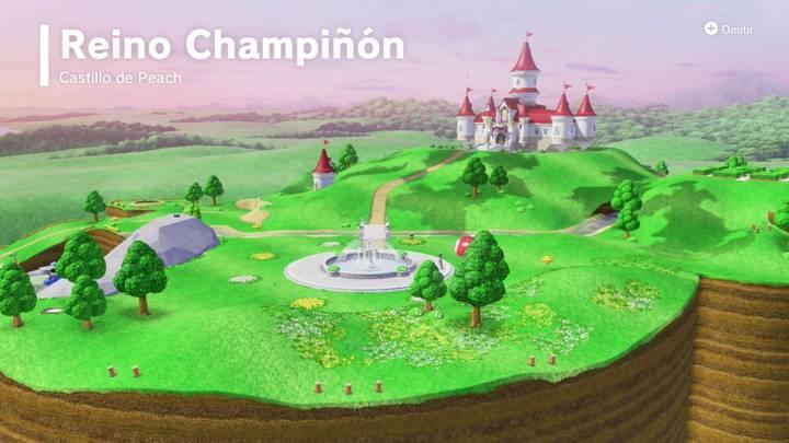 Reino Principal Super Mario Odyssey