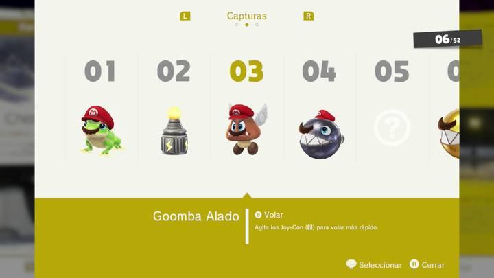 Goomba Alado - Super Mario Odyssey