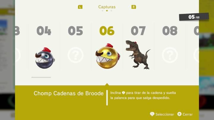 Chomp Cadenas de Broode - Super Mario Odyssey