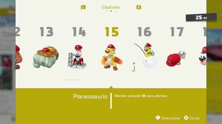 Planeosaurio - Super Mario Odyssey
