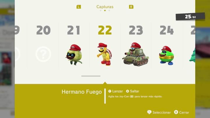 Hermano Fuego - Super Mario Odyssey